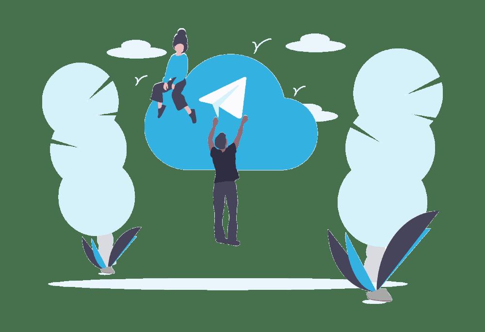Plateforme Service Client pour Telegram