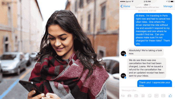 How to manage support requests through Messenger