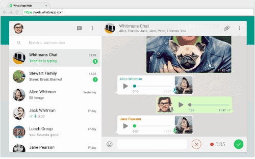 WhatsApp Business versione Web