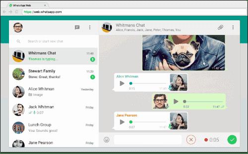 versión Web de WhatsApp Negocio