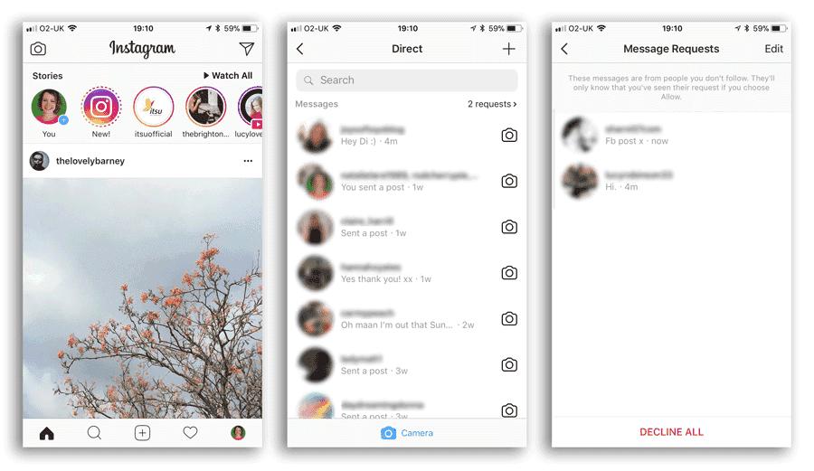 Cómo utilizar Instagram Direct para proporcionar soporte al cliente