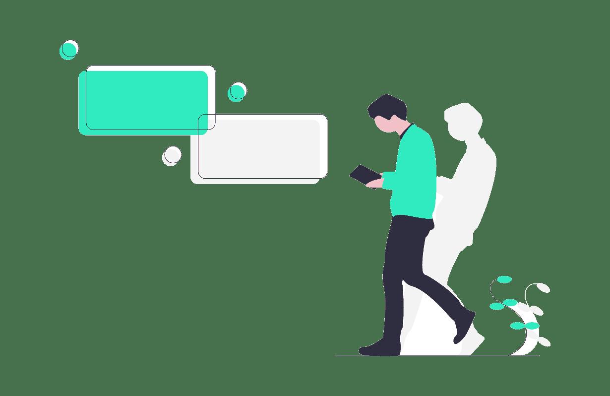 Bate-papo ao vivo para os usuários sem perder nenhuma conversa