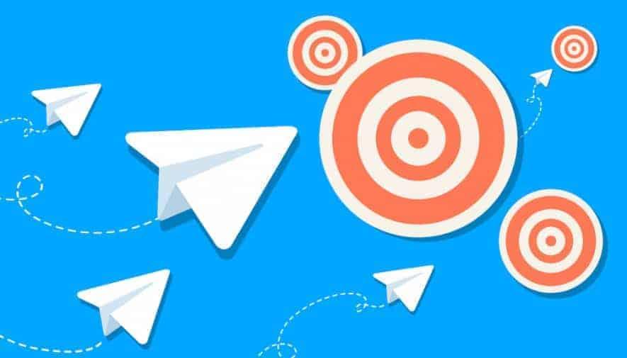 usar grupos de telegram para fornecer assistência