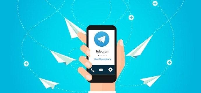 intégrer des télégram dans les canaux de support