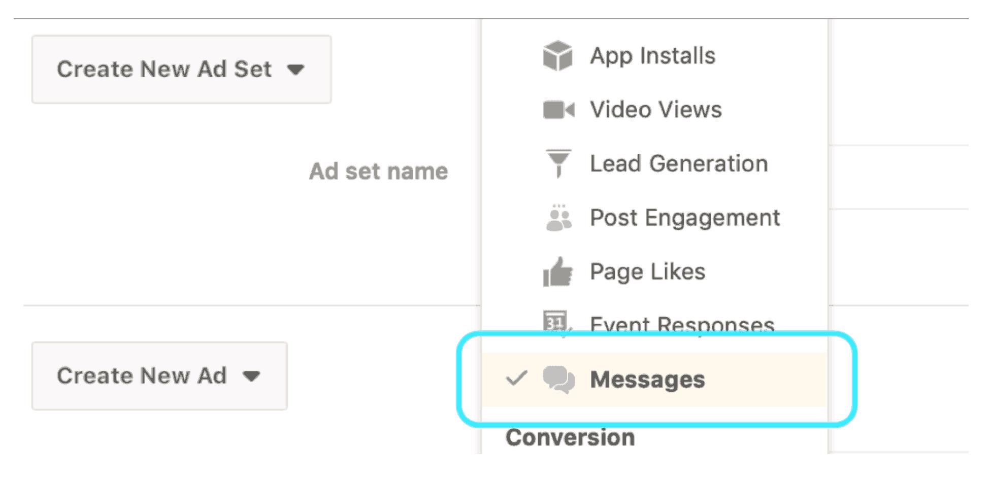 Cómo vender en Messenger a través de un chat