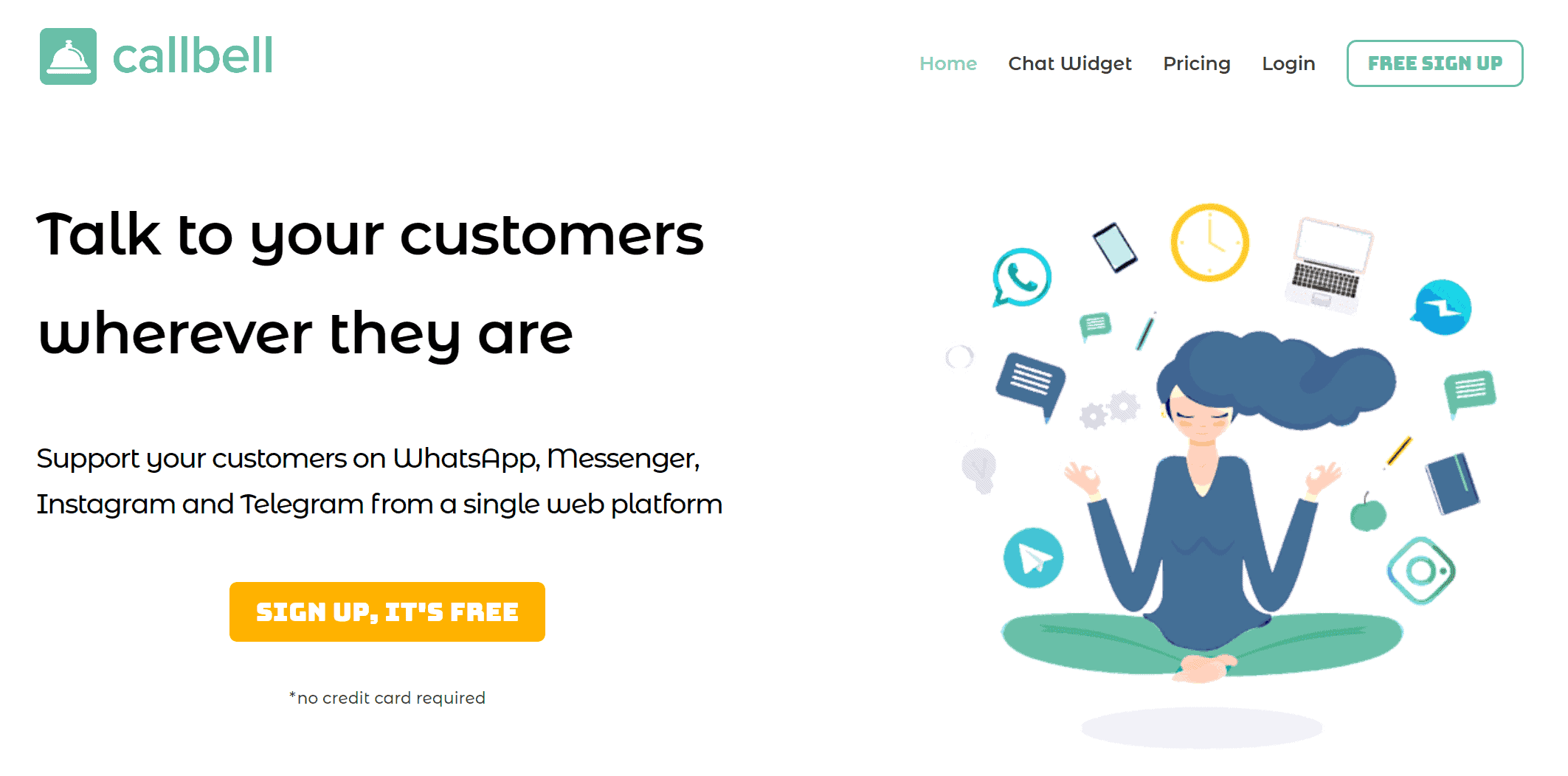 Callbell: the best live chat for ecommerce sites