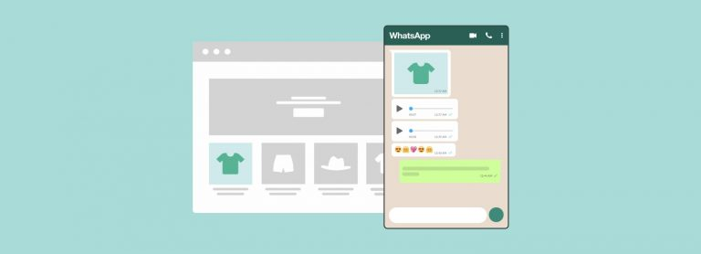 Use o WhatsApp para vender on-line