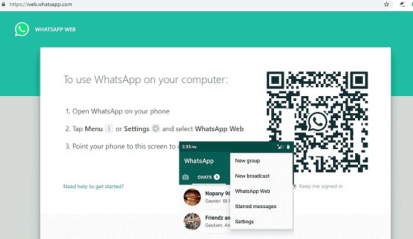 Open WhatsApp from multiple computers simultaneously