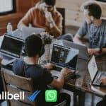 CRM integrado a WhatsApp Business por equipo de venta