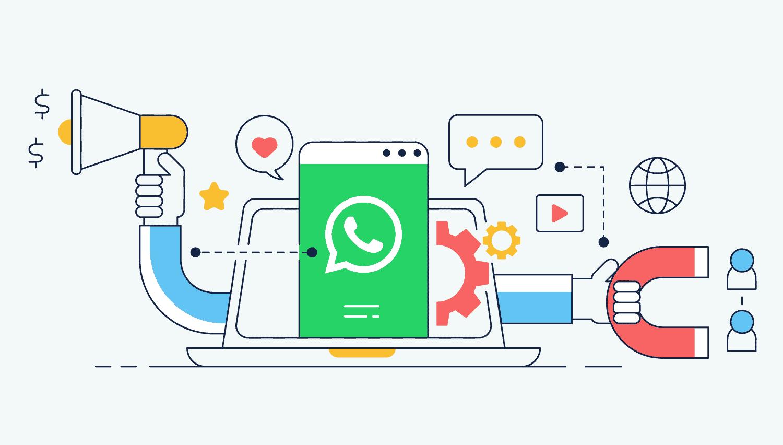 Comment guider l'utilisateur avec Whatsapp