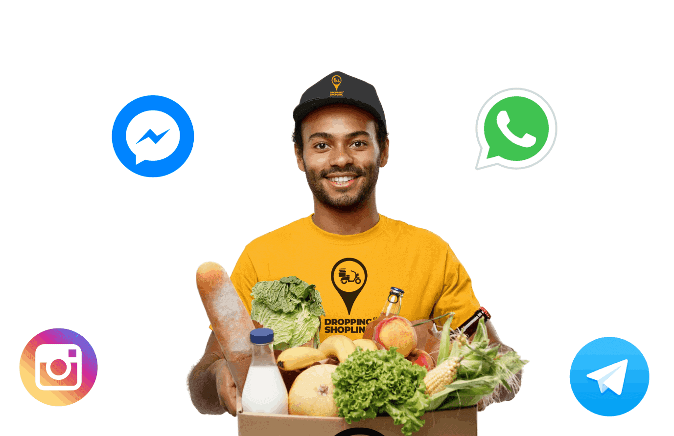 WhatsApp & Messengers Help Desk for Delivery Companies