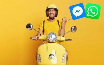 Comment utiliser WhatsApp et Messenger pour la livraison