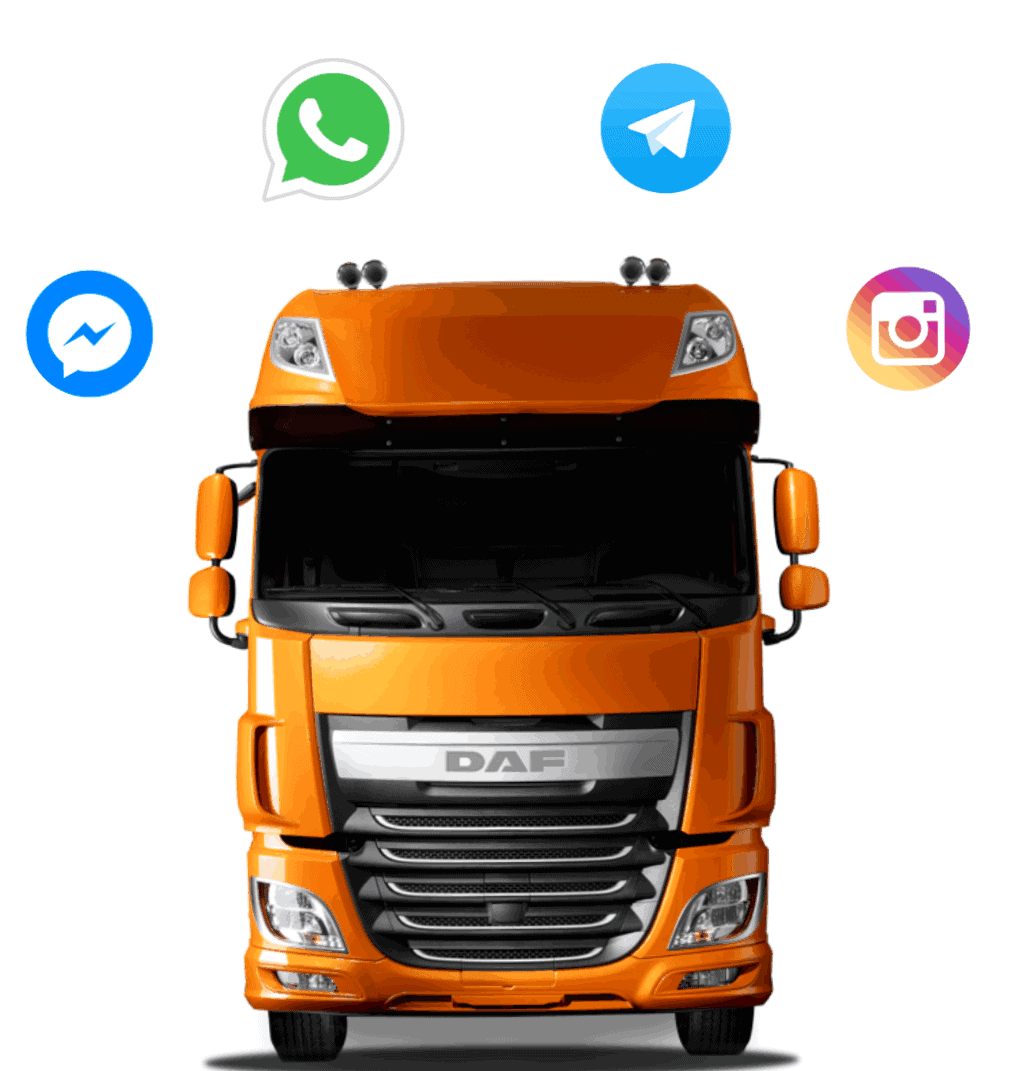 WhatsApp & Messengers Help Desk for Transport and Logistics