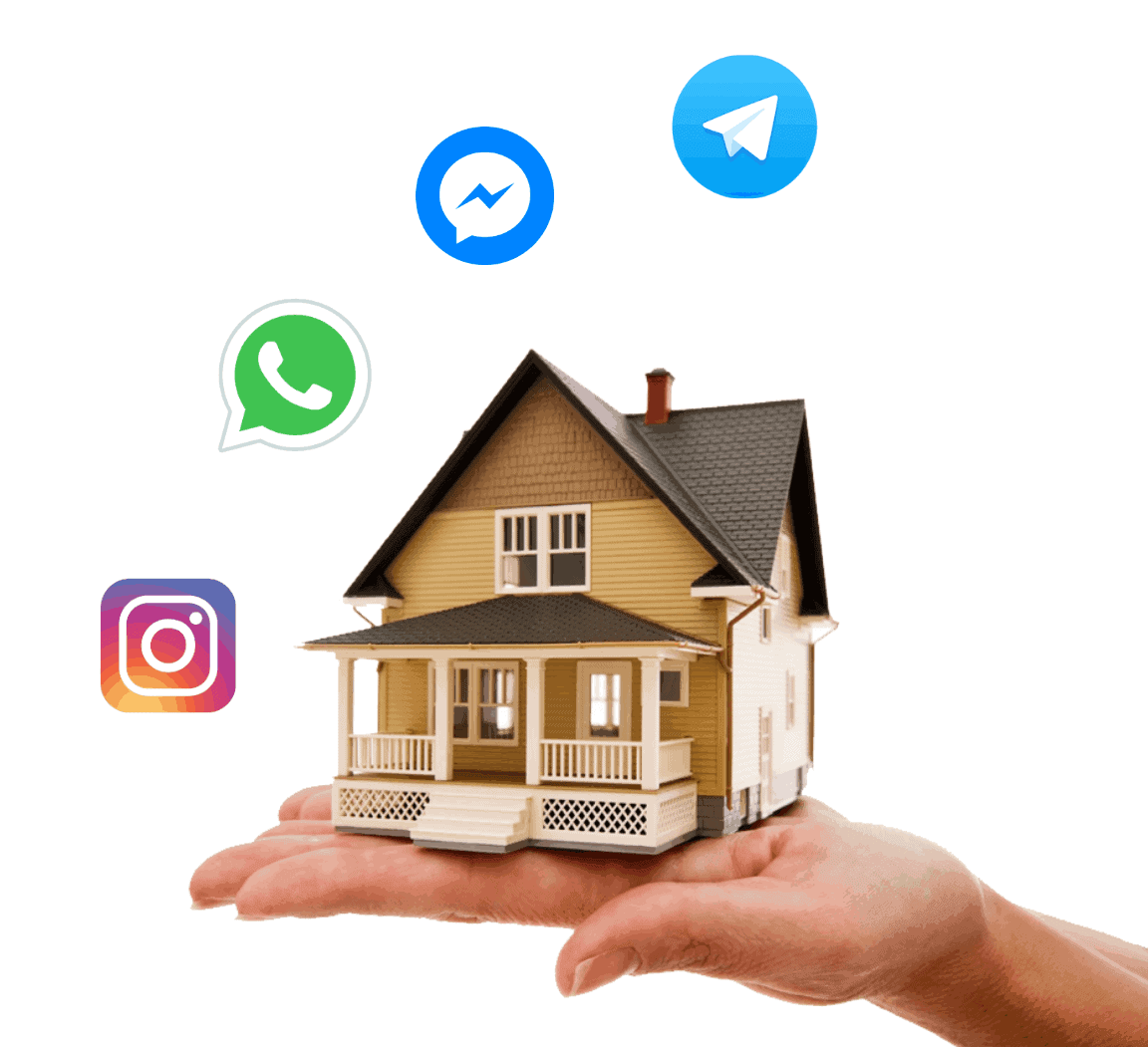 WhatsApp & Messengers Help Desk for Real Estate Agencies