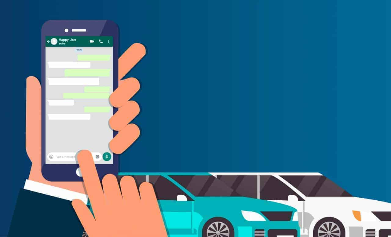 Porquê utilizar o WhatsApp para vender automóveis?