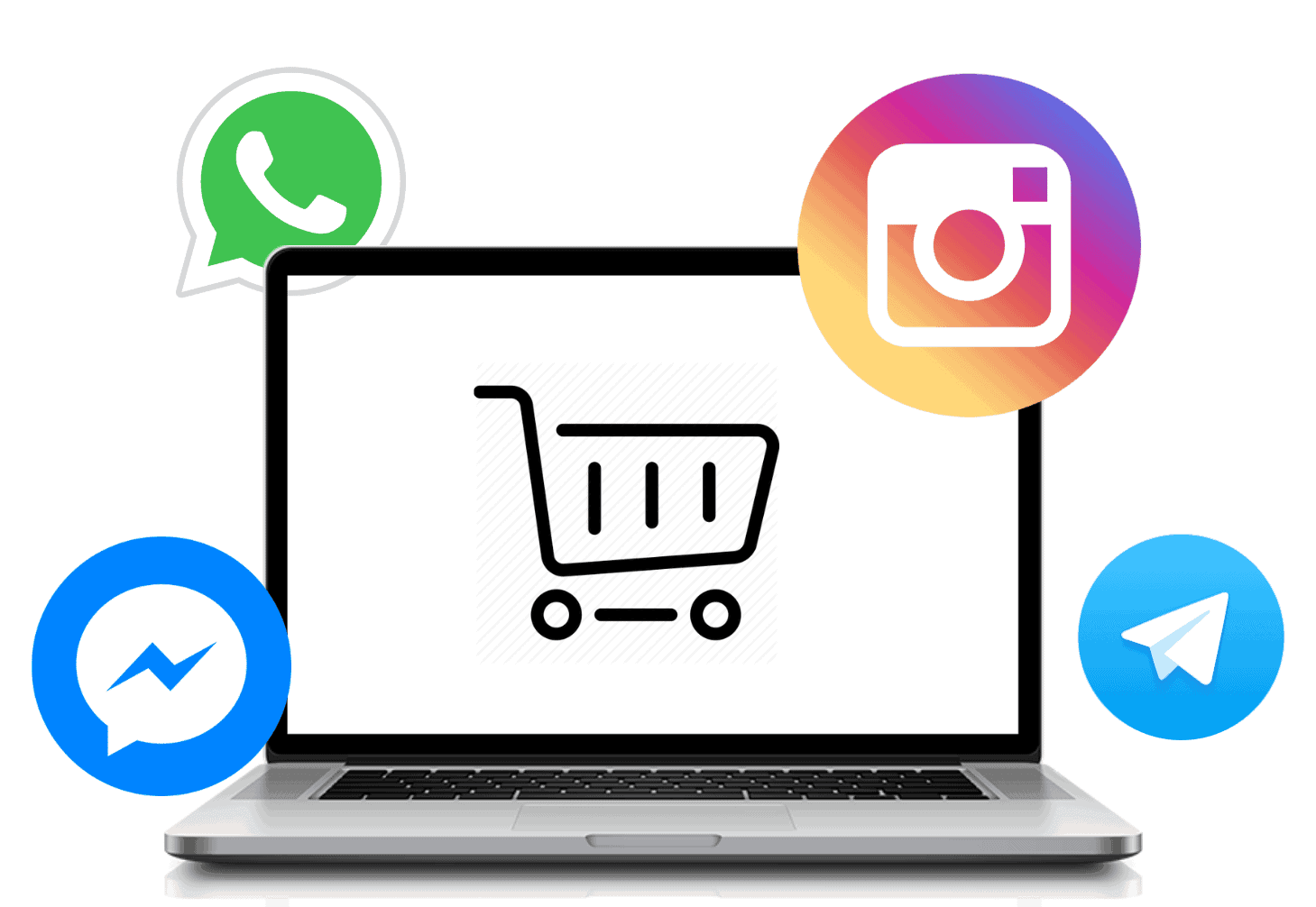Help Desk per WhatsApp & Messenger pour Ecommerce