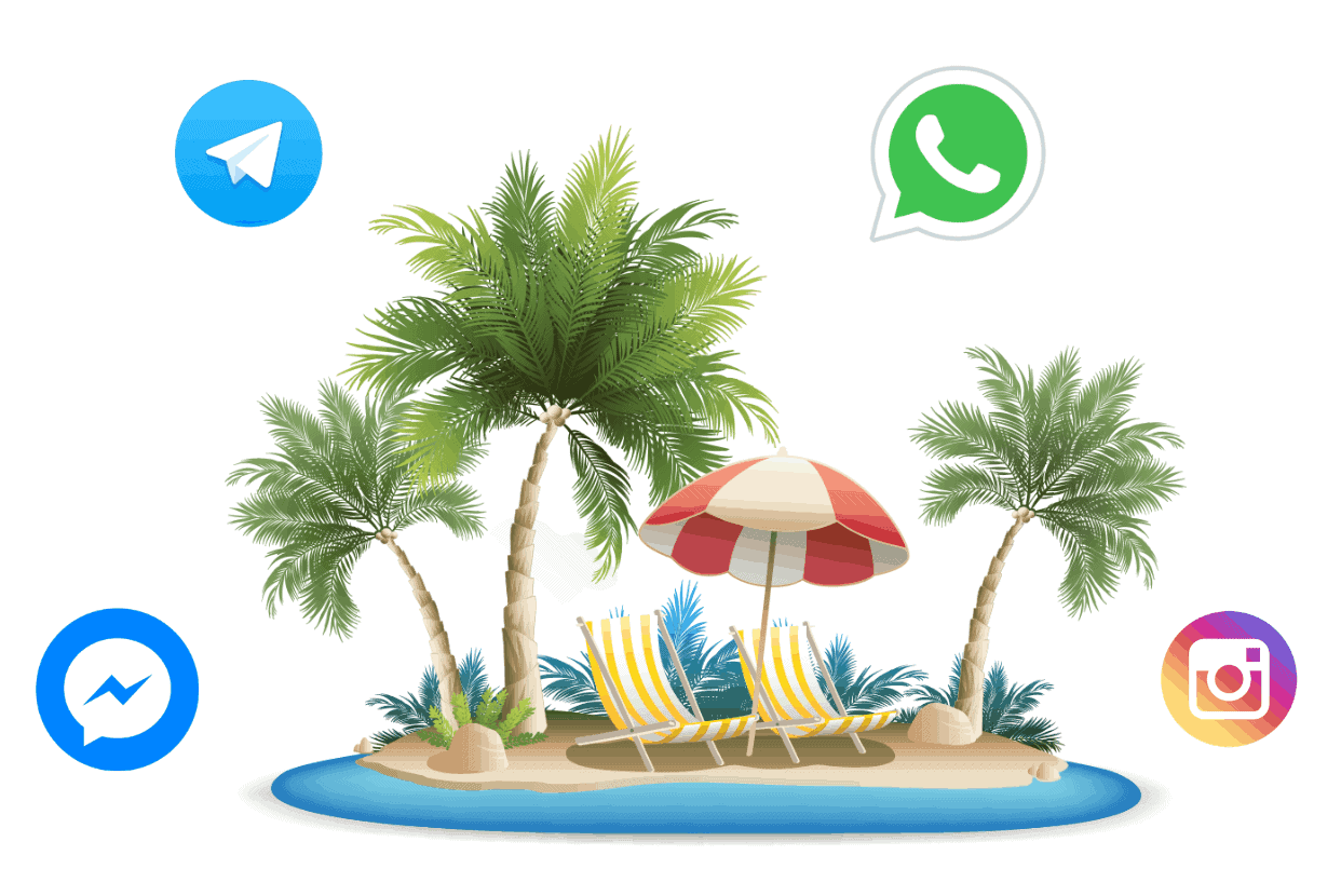 Help Desk per WhatsApp & Messengers per Hotels e Resorts