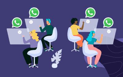 WhatsApp pour les centres de contact [Guide 2021]