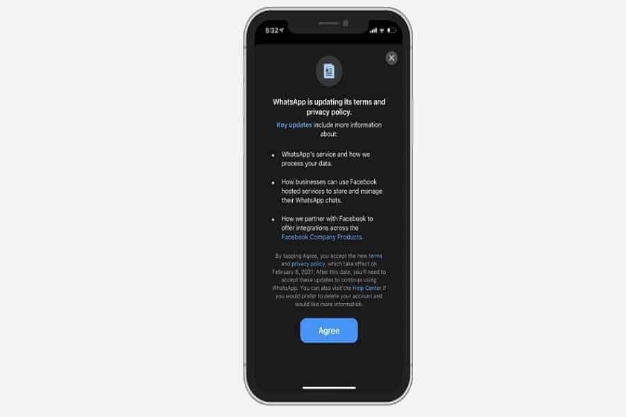 WhatsApp obliga a sus usuarios a aceptar los nuevos términos de uso: he aquí por qué