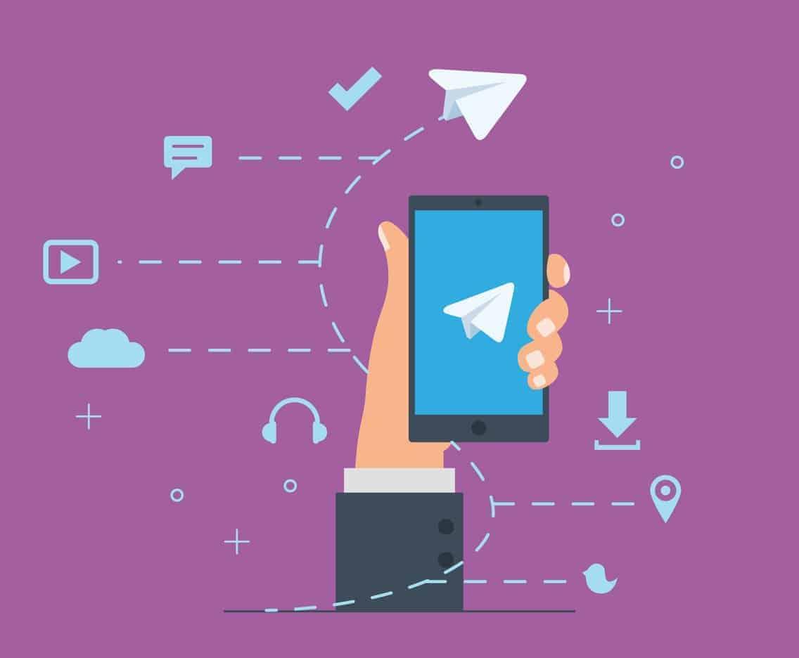 Telegram com vários usuários ao mesmo tempo