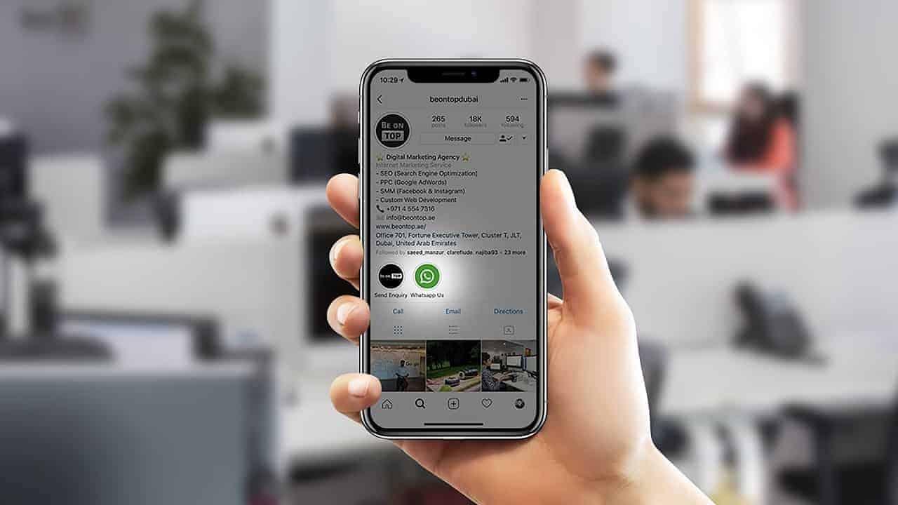 Alternatives to add WhatsApp to Instagram