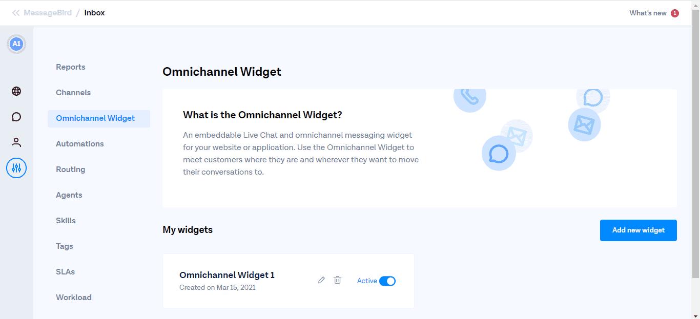 How to sign up on MessageBird