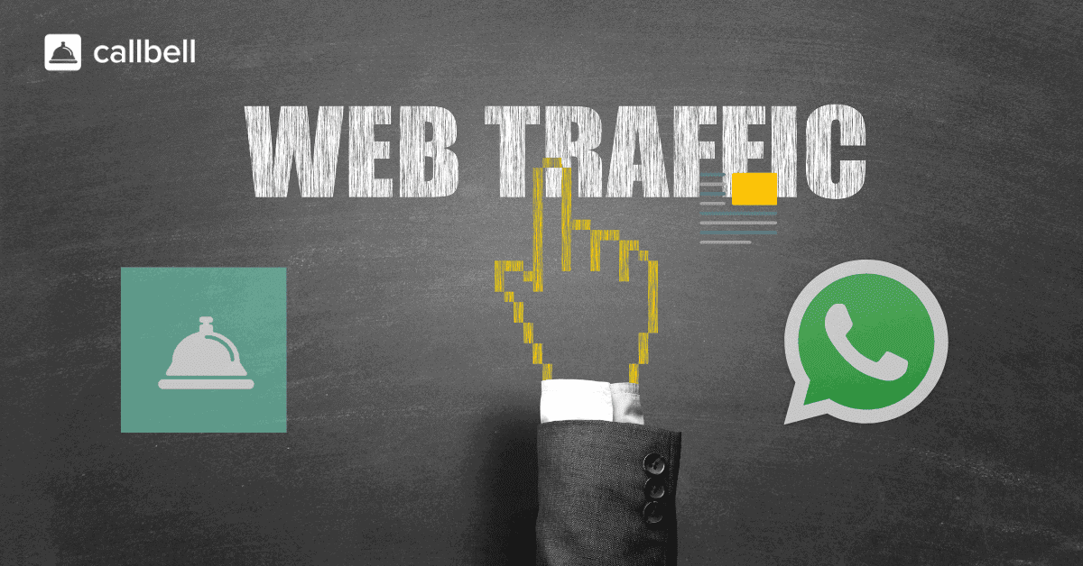 How can you manage all the traffic generated by Facebook campaigns on WhatsApp?