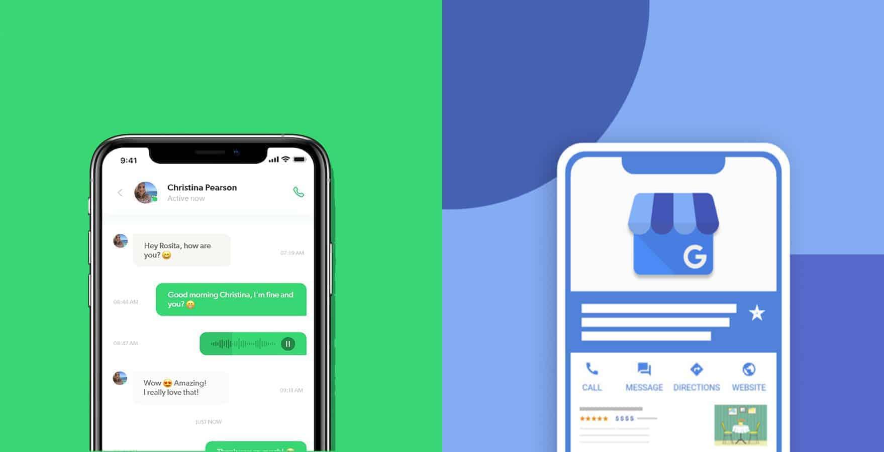WhatsApp Business vs Google My Business