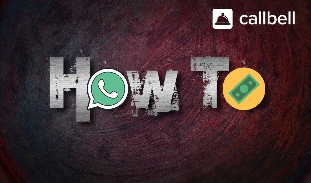 How do you make payments via WhatsApp?