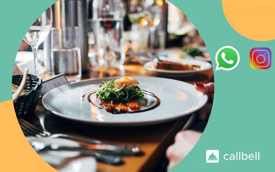 WhatsApp e Instagram para restaurantes