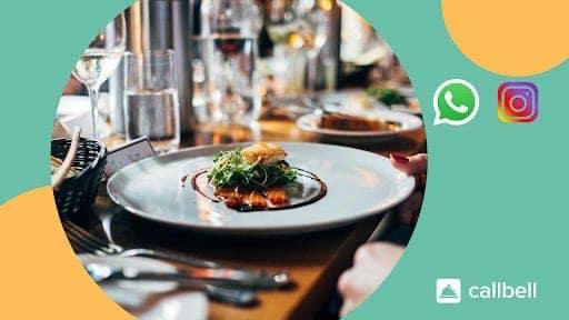WhatsApp and Instagram for restaurants
