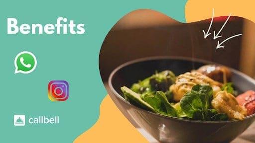 ¿Cuáles son los beneficios de usar las redes sociales en un restaurante?
