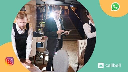 Comment puis-je utiliser WhatsApp et Instagram pour gérer mon restaurant?