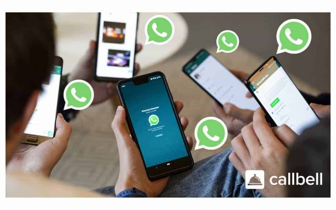 Opening WhatsApp from multiple smartphones at the same time